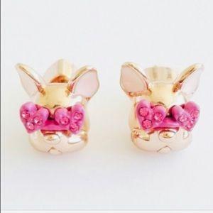 New Kate Spade Francois French Bulldog  Earrings
